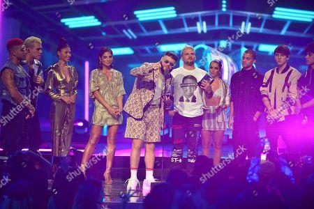 Editorial photo of Premios Juventud, Latin Awards, Coral Gables, USA - 18 Jul 2019