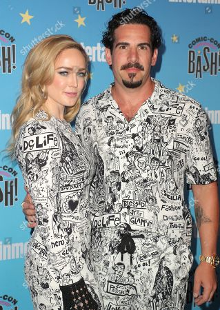 Stock Picture of Caity Lotz and Dylan Lewis