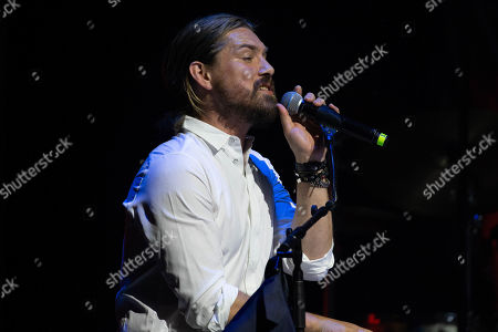 Stock Picture of Singer Taylor Hanson of Hanson performs onstage during the Texas Chapter of the Recording Academy's 25th Anniversary Gala at ACL Live.