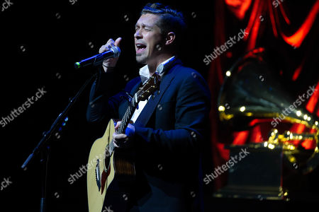 Stock Picture of Singer Isaac Hanson of Hanson performs onstage during the Texas Chapter of the Recording Academy's 25th Anniversary Gala at ACL Live.