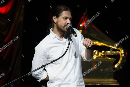 Singer Taylor Hanson of Hanson performs onstage during the Texas Chapter of the Recording Academy's 25th Anniversary Gala at ACL Live.