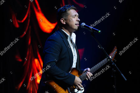 Singer Isaac Hanson of Hanson performs onstage during the Texas Chapter of the Recording Academy's 25th Anniversary Gala at ACL Live.