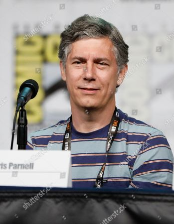 """Chris Parnell attends the """"Rick and Morty"""" panel on day two of Comic-Con International, in San Diego"""