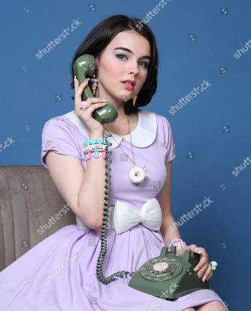 """Merit Leighton poses for a portrait to promote """"She-Ra"""" on day two of Comic-Con International, in San Diego"""