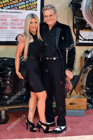 Vivienne Kove and Martin Kove