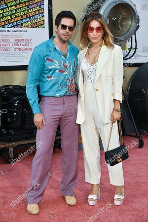 Eli Roth and Lorenza Izzo