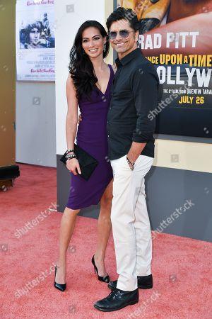 Caitlin McHugh and John Stamos