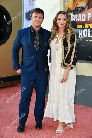 Editorial photo of 'Once Upon a Time in Hollywood' film premiere, Arrivals, TCL Chinese Theatre, Los Angeles, USA - 22 Jul 2019