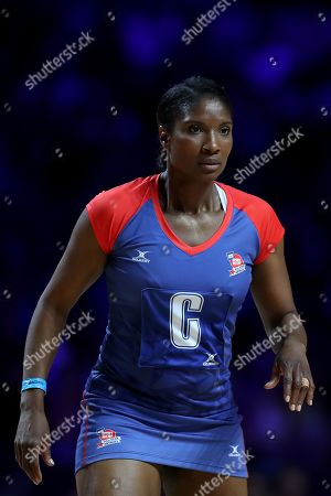 Denise Lewis during the Sport Relief celebrity match