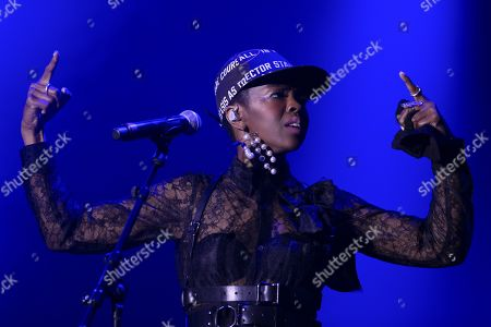 US singer Ms. Lauryn Hill performs on the main stage during the 36th edition of the Gurten music open air festival in Bern, Switzerland, 19 July 2019. The open air music festival runs from 17 to 20 July.