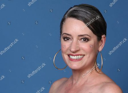 """Stock Photo of Paget Brewster poses for a portrait to promote the animated television series """"DuckTales"""" on day two of Comic-Con International, in San Diego"""