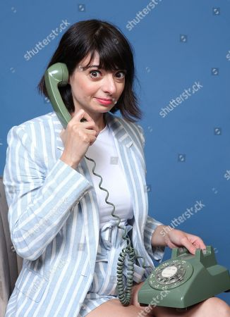 """Kate Micucci poses for a portrait to promote the animated television series """"DuckTales"""" on day two of Comic-Con International, in San Diego"""