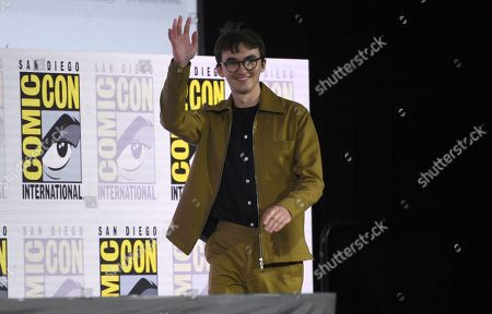 "Isaac Hempstead Wright arrives at the ""Game of Thrones"" panel on day two of Comic-Con International, in San Diego"