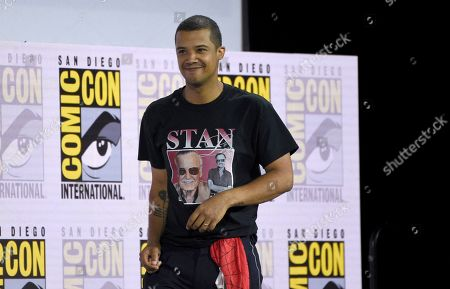 """Jacob Anderson arrives at the """"Game of Thrones"""" panel on day two of Comic-Con International, in San Diego"""