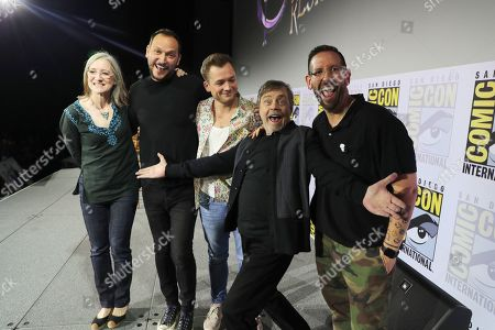 Lisa Henson, Executive Producer, Louis Leterrier, Director/Executive producer, Taron Egerton, Mark Hamill, Damian Holbrook