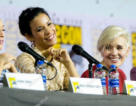 Danay Garcia and Maggie Grace