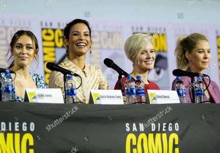 Editorial image of 'Fear the Walking Dead' TV show panel, Comic-Con International, San Diego, USA - 19 Jul 2019