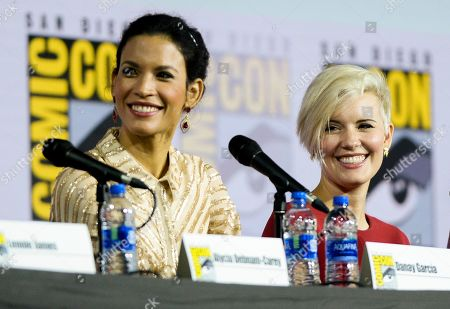 Stock Photo of Danay Garcia and Maggie Grace