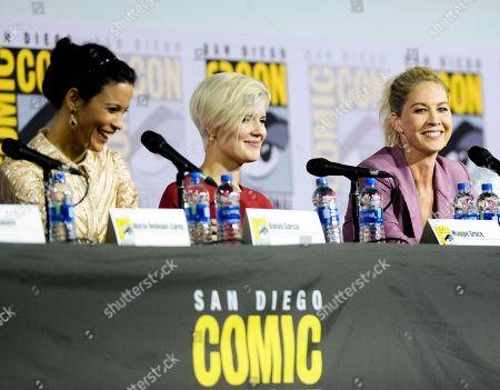 Stock Image of Danay Garcia, Maggie Grace and Jenna Elfman