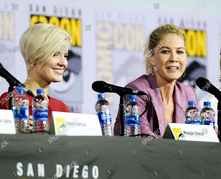Maggie Grace and Jenna Elfman