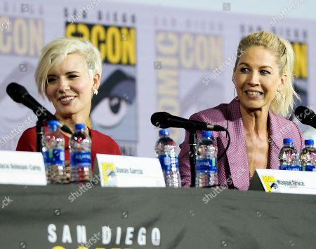 Maggie Grace and Jenna Elfman
