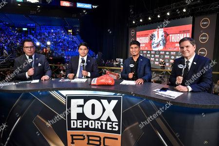 Editorial photo of PBC on Fox Fight Night weigh in, Boxing, Las Vegas, USA - 19 Jul 2019