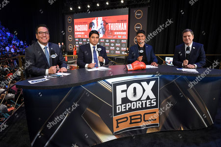Stock Image of Adrian Garcia Marquez, Erik Morales, Mikey Garcia, Jessi Losada