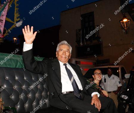 Jose Carlos Ruiz participates in an event during the inauguration of the Guanajuato International Film Festival (GIFF) 2019, in San Miguel de Allende, Guanajuato, Mexico, 19 July 2019.