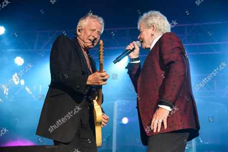 Graham Russell, left and Russell Hitchcock of Air Supply perform 'The Lost in Love Experience' tour