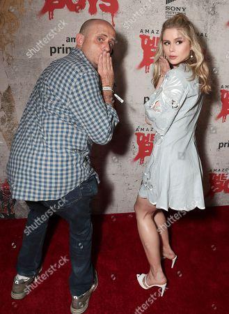 Eric Kripke and Erin Moriarty