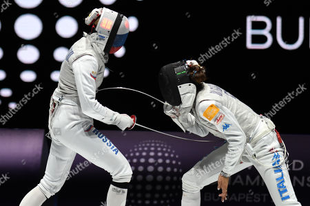 Editorial image of FIE World Fencing Championships, Budapest, Hungary - 19 Jul 2019