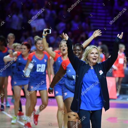 Comic Relief Celebrity Netball Match - Jennifer Saunders and Oti Mabuse - Sport Relief