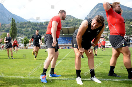 Editorial photo of Wales Rugby World Cup Training Camp in Fiesch, Switzerland - 20 Jul 2019