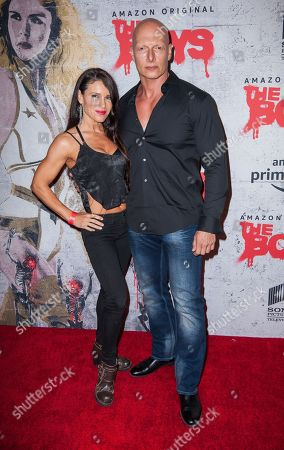Stock Image of Joseph Gatt with guest