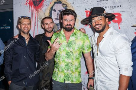 Antony Starr, Chace Crawford, Karl Urban and Laz Alonso