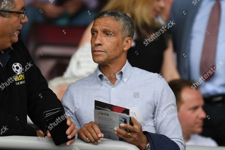 Stock Picture of Former Brighton manager Chris Hughton in the crowd during the Pre-Season Friendly match between Northampton Town and Sheffield United at the PTS Academy Stadium, Northampton