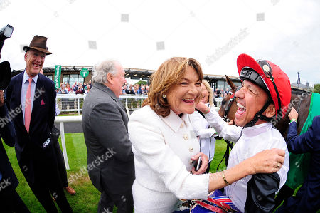 CURRAGH. The Kerrygold Irish Oaks (Group 1). STAR CATCHER and Frankie Dettori won for trainer John Gosden (left) and owners Anthony & Antoinette Oppenheimer.
