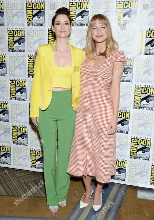 Editorial photo of 'Supergirl' TV show photocall, Comic-Con International, San Diego, USA - 20 Jul 2019
