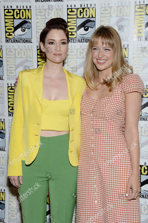Editorial image of 'Supergirl' TV show photocall, Comic-Con International, San Diego, USA - 20 Jul 2019