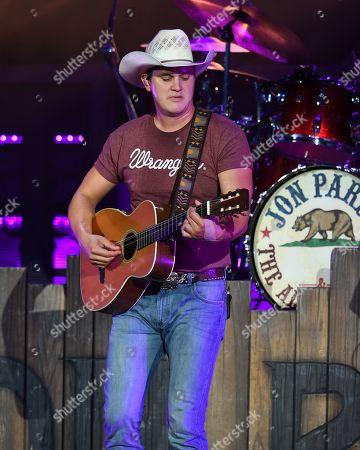 Editorial picture of John Pardi in concert, Florida, USA - 19 Jul 2019