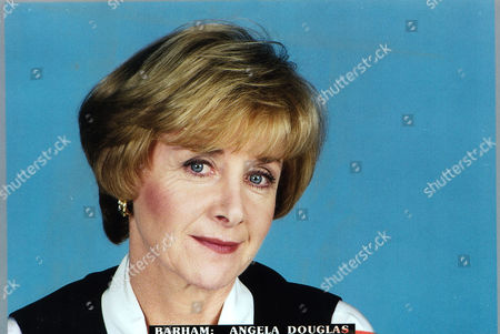 Portrait Of Angela Douglas Taken For The Angela Levin Interview. Wife Of Late Actor Kenneth More.