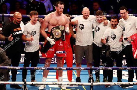 Editorial image of Dillian Whyte vs Oscar Rivas, Boxing, O2 Arena, London, UK - 20 Jul 2019