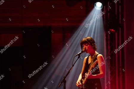 Stock Picture of British singersongwriter Elena Tonra of ex:re performs on stage during a concert at the Blue Balls Festival in Lucerne, Switzerland, 20 July 2019. The music event runs from 19 to 27 July.