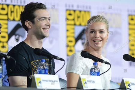 Ethan Peck and Rebecca Romijn