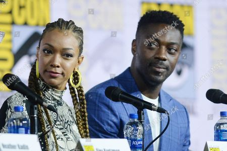 Sonequa Martin-Green and David Ajala