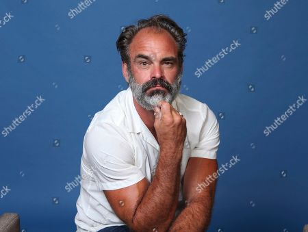 "Steven Ogg poses for a portrait to promote the television series ""Snowpiercer"" on day three of Comic-Con International, in San Diego"