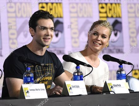 "Editorial image of 2019 Comic-Con - Enter the ""Star Trek"" Universe Panel, San Diego, USA - 20 Jul 2019"