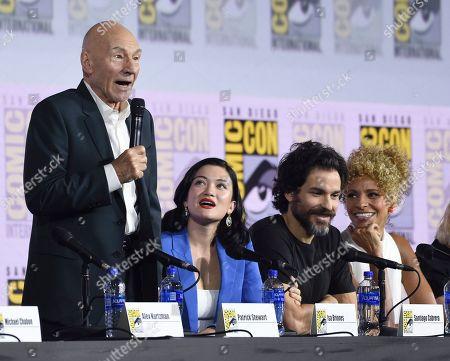 "Editorial photo of 2019 Comic-Con - Enter the ""Star Trek"" Universe Panel, San Diego, USA - 20 Jul 2019"