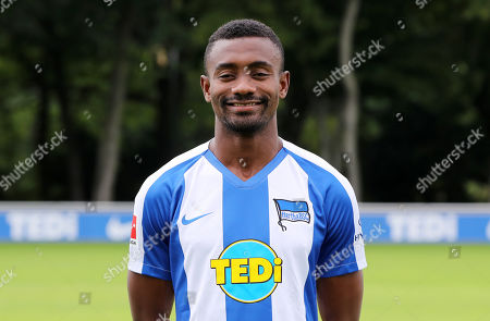 Salomon Kalou / Sport / Football /  Bundesliga  DFL / Portraettermin  2019/2020 / 19.07.2019 / Teamphoto Hertha BSC Berlin / Kader, Vorstellung, Praesentation, Pressetermin /