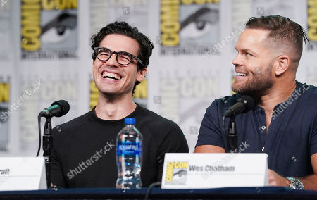 Steven Strait and Wes Chatham